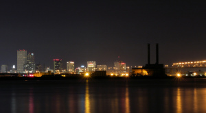 New Orleans From Gretna
